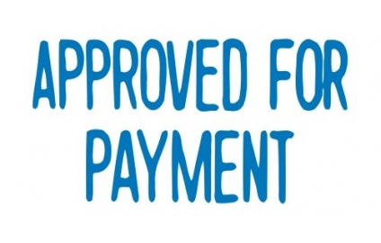 APPROVED FOR PAYMENT