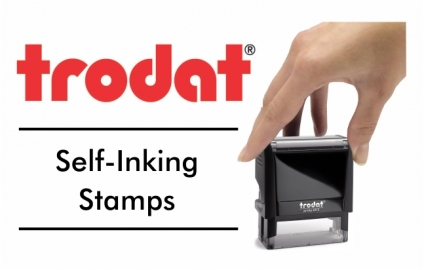 Trodat Self-Inking Stamps Popular Sizes