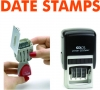 Self Inking Date Stamps